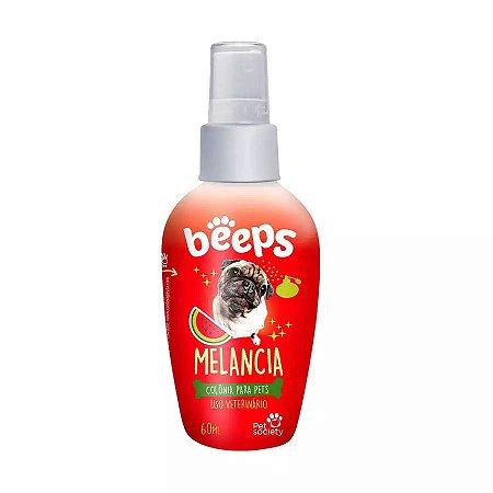 Colônia Para Cães E Gatos Beeps Melancia 60ml