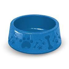 Comedouro Plástico P/ Cães Furacão Pet Azul Nº 4 (1900ml)