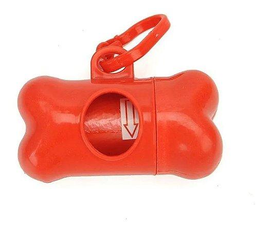 Kit Cata Caca Furacao Pet Vermelho (C/ 3 Refis)