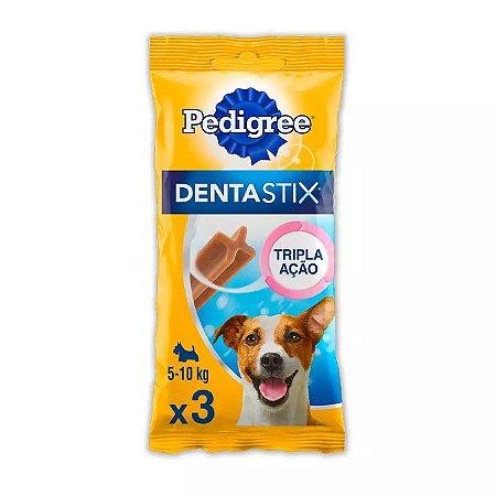 Petisco Pedigree Dentastix Cuidado Oral Para Cães Adultos Raças Pequenas 3 Un