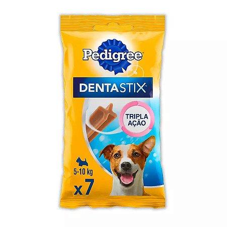 Petisco Pedigree Dentastix Cuidado Oral Para Cães Adultos Raças Pequenas 7 Un
