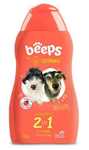 Shampoo Beeps Estopinha 2 Em 1 Extrato De Aveia 500ml