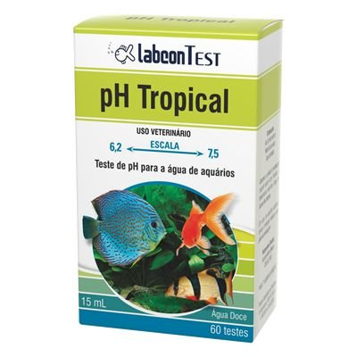 Teste De Ph Labcon Peixes Tropicais 15ml