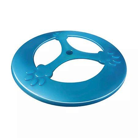 Brinquedo Furacão Pet Frisbee Pop Azul para Cães