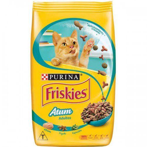 Ração Para Gatos Adultos Friskies Atum 1kg
