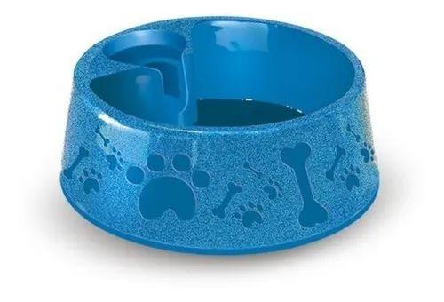 Comedouro para cães e Gatos Azul Paris 850ml N.2 Furacão Pet