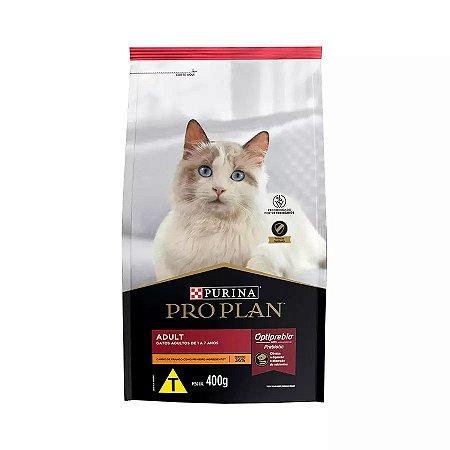 Ração Nestlé Purina ProPlan para Gatos Adultos Sabor Frango 400g