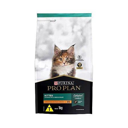 Ração Nestlé Purina ProPlan para Gatos Filhotes Sabor Frango 1kg