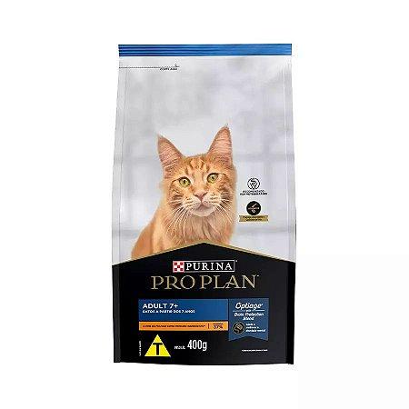 Ração Nestlé Purina ProPlan para Gatos Adultos a Partir de 7 Anos 400g