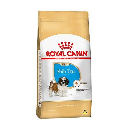 Ração Royal Canin Shih Tzu - Cães Filhotes 2.5kg