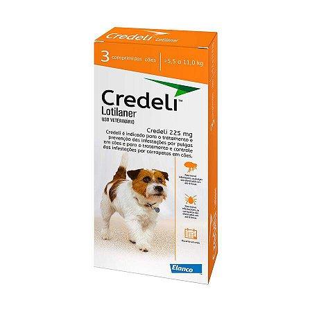 Antipulgas Credeli Elanco para Cães 5,5 a 11kg C/3 Un