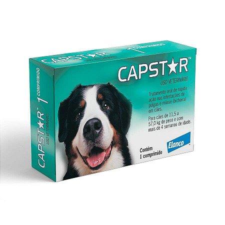Antipulgas Elanco Capstar 57mg para Cães de 11 a 57kg