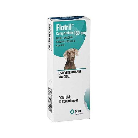 Flotril MSD 150mg C/10 Un para Cães