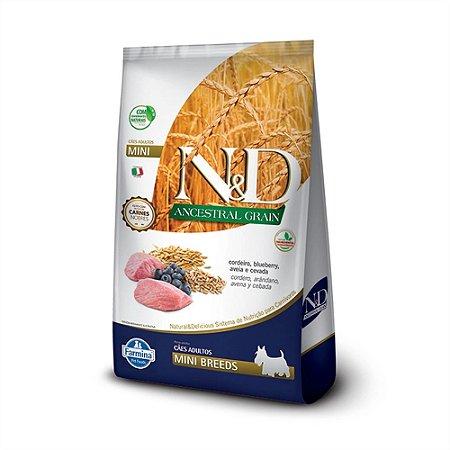 Ração N&D Ancestral Grain Cordeiro Cães Adultos Mini 2,5Kg