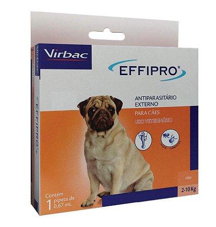 Effipro Virbac para Cães até 10Kg