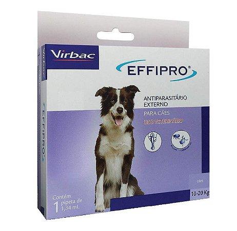 Effipro Virbac para Cães de 10Kg a 20Kg
