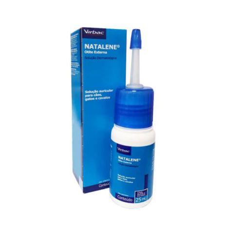 Solução Antiparasitária Auricular Virbac Natalene - 25 ml