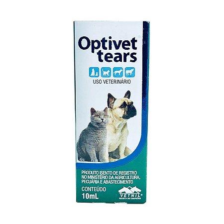 Colírio Optivet Tears Vetnil - 10 ml