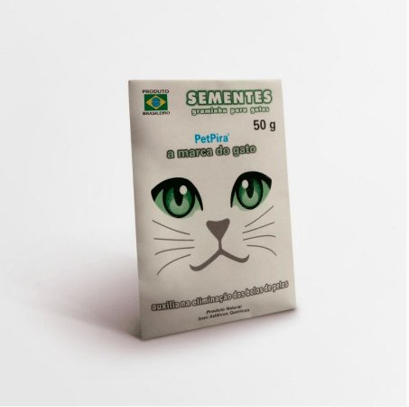 Sementes de Graminha para Gatos 50g