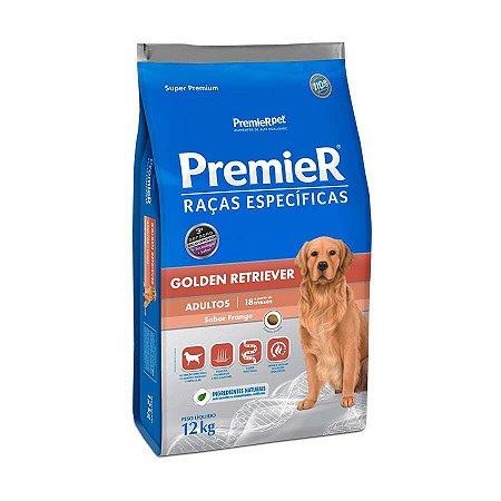 Ração Premier Raças Específicas Golden Retriever para Cães Adultos - 12kg
