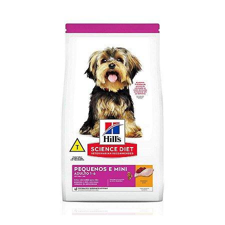 Ração Hill's Science Diet para Cães Adulto Pequenos e Mini 2,4kg