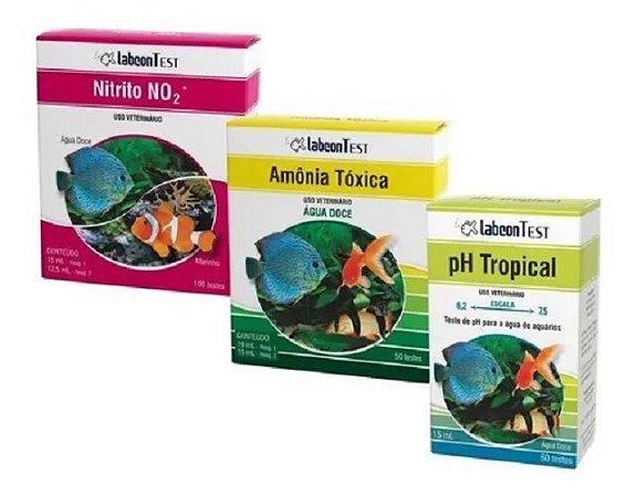 Kit de Testes Labcon - Amônia Nitrito PH
