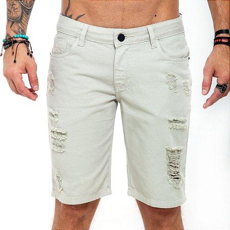 Bermuda Jeans John John branca