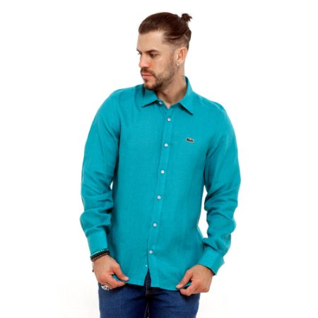 Camisa Lacoste verde