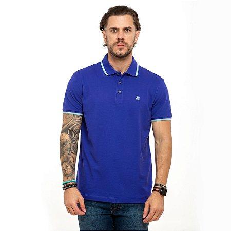 Camisa Polo John John azul