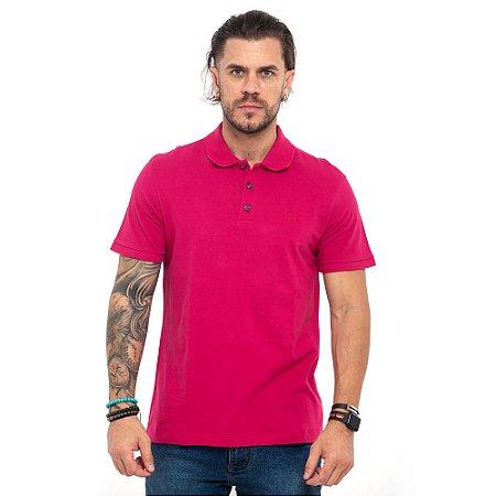 Camisa Polo John John rosa