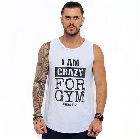 Regata Arcaust Crazy For Gym branca