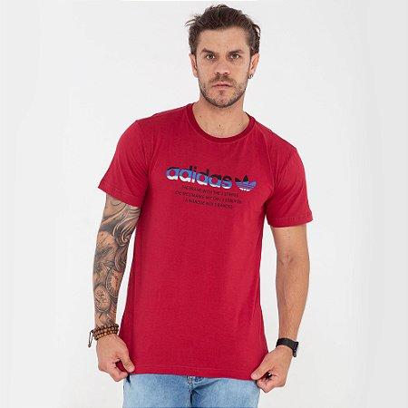 Camiseta Adidas The Brand vermelha