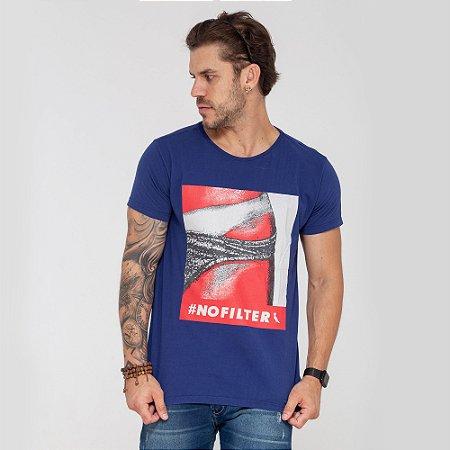 Camiseta Reserva No Filter azul