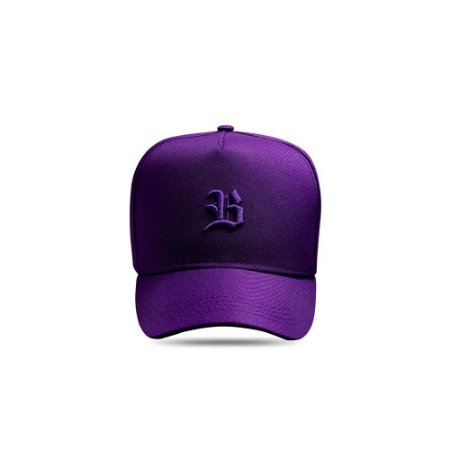 Boné Snapback Logo Basic All Roxo