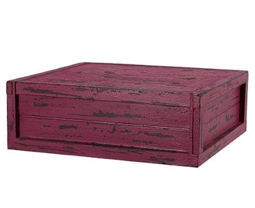 Caixa quadrada pink