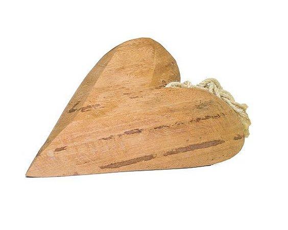 Coração madeira maciça
