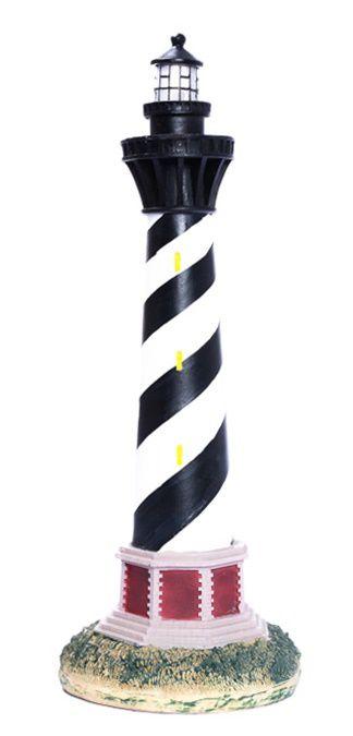 Farol preto com branco