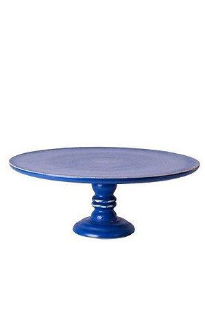 Prato doce madeira azul royal G