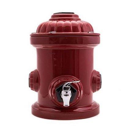 Suqueira hidrante vermelho