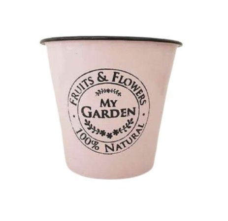 Cachepo ágata garden rosa