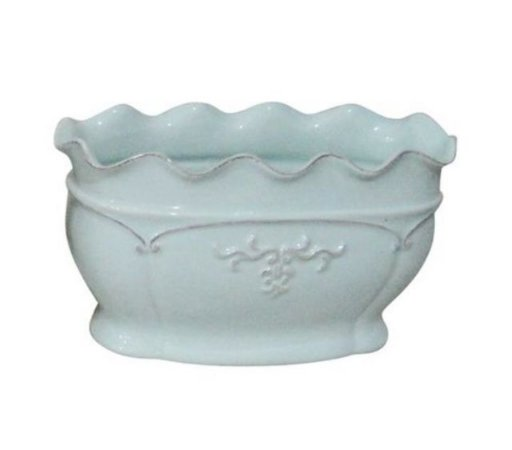 Vaso delicate azul M