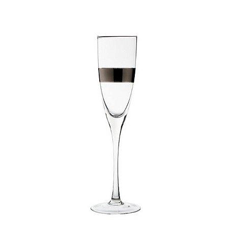 Taça silver champagne