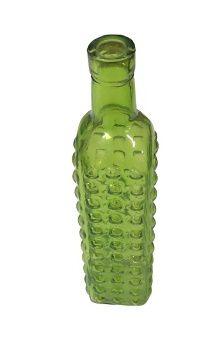 Garrafa bolinha verde G