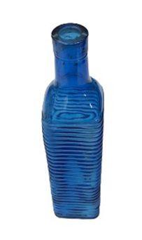 Garrafa Listrada azul escuro G