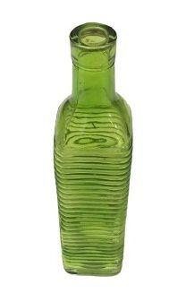 Garrafa Listrada verde G