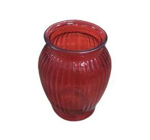 Vaso  friso vermelho