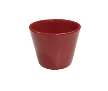 Vaso cachepot vermelho M