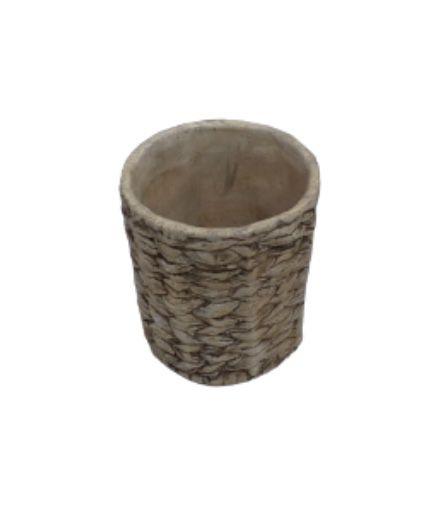 Vaso palha cerâmica P