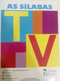 TV - Sílabas