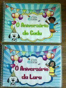 O aniversário do Cadu/Lara